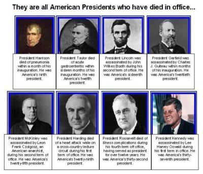 La supuesta maldición que un indio lanzó contra los presidentes de los EEUU.