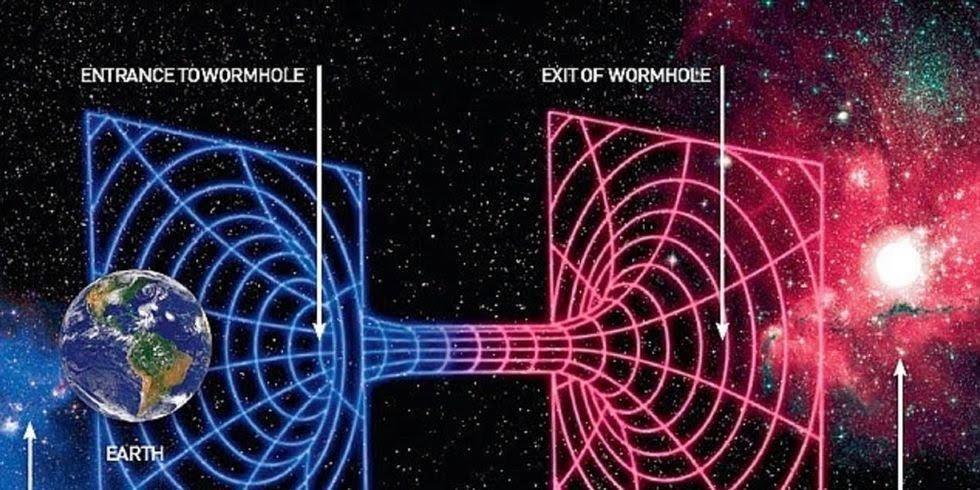 Los agujeros de gusano no nos llevarán a otros mundos