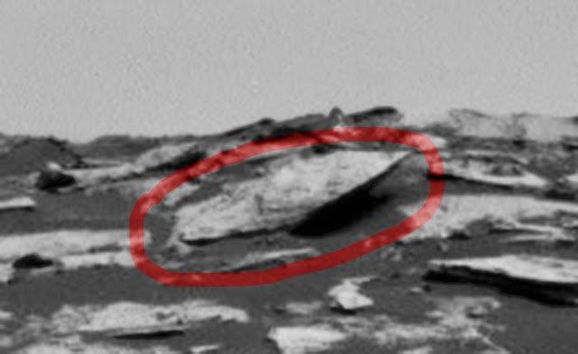 Encuentran NAVE UFO en Marte