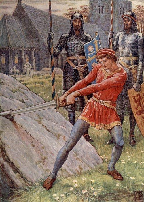 La verdadera leyenda de la espada en la piedra y el rey Arturo