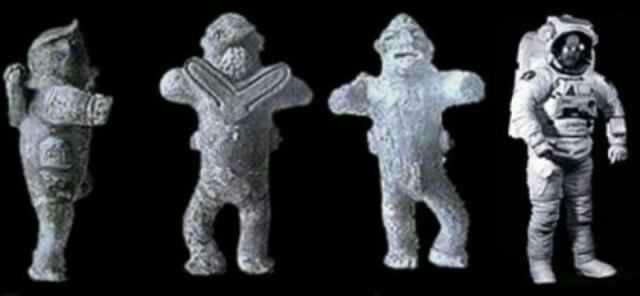 El astronauta de kiev de 2000 años