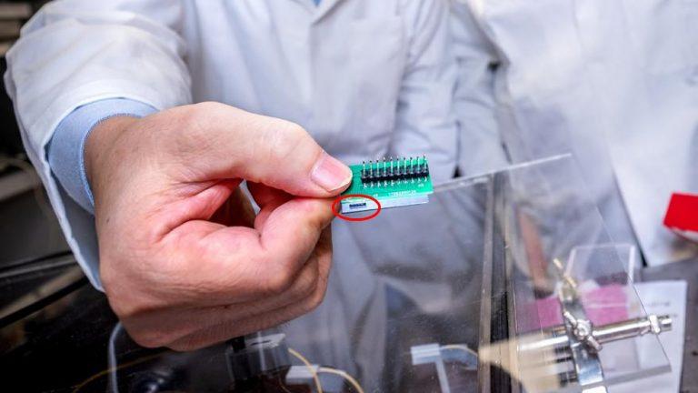 Científicos crean un cifrador cuántico que es 1000 veces más pequeño que los anteriores