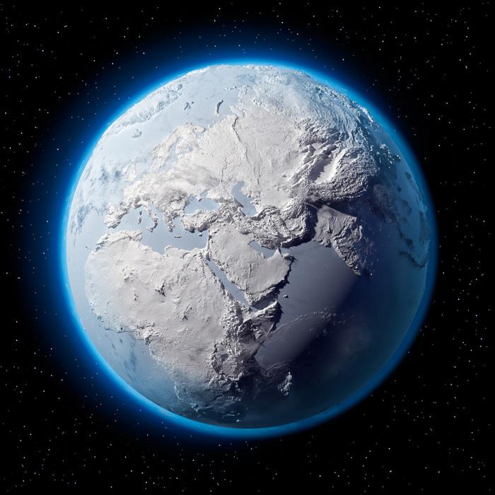 De acuerdo con un modelo del ciclo solar con un 97% de exactitud una nueva era de hielo es inminente
