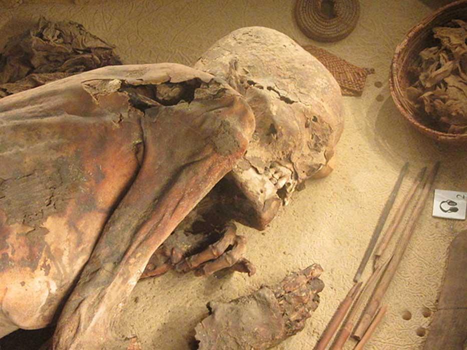 """DESCUBREN """"MOMIA EGIPCIA"""" EN NORTEAMÉRICA"""
