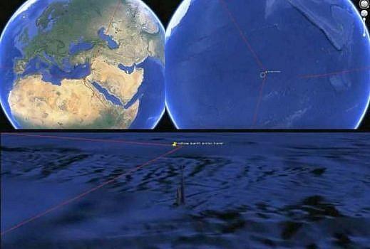 Dos grandes pirámides submarinas descubiertas en el suelo marino de la costa de Nueva York