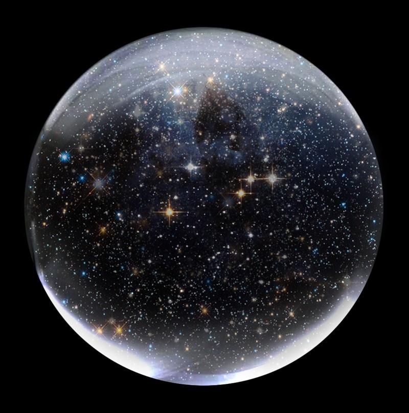 El Cosmos podría ser un bucle infinito, como una esfera colosal
