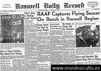 El incidente de Roswell - La historia de Philip James Corso