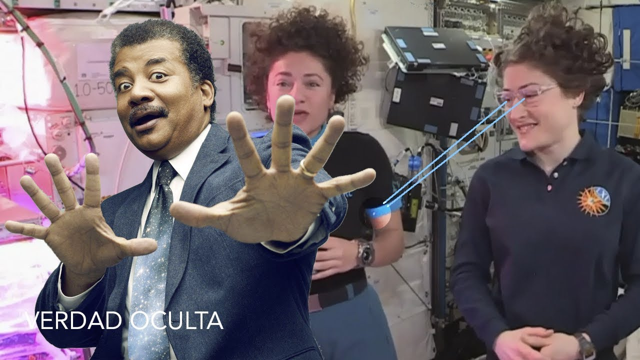 El MOMENTAZO de Neil deGrasse Tyson y Nasa en Directo desde el Espacio