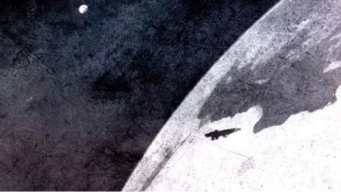 Encuentra una memoria USB con imágenes increíbles de planetas, naves espaciales extraterrestres y extraterrestres