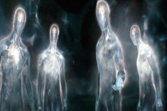 Encuentros de otro mundo con entidades encubiertas de invisibilidad