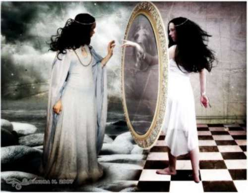 Espejos, ¿portales a otras dimensiones?