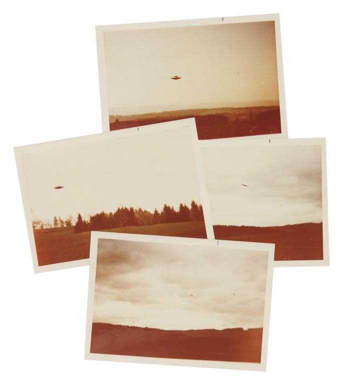 Las fotos de ovnis de Billy Meier van a subasta. Uno de ellos fue utilizado en la serie X-Files.