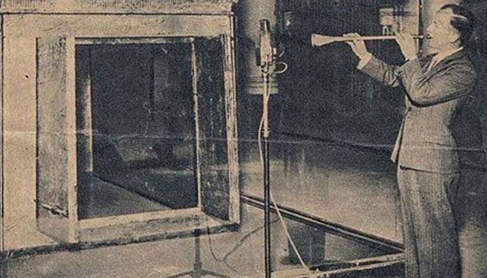 Las trompetas 'malditas' de Tutankamón