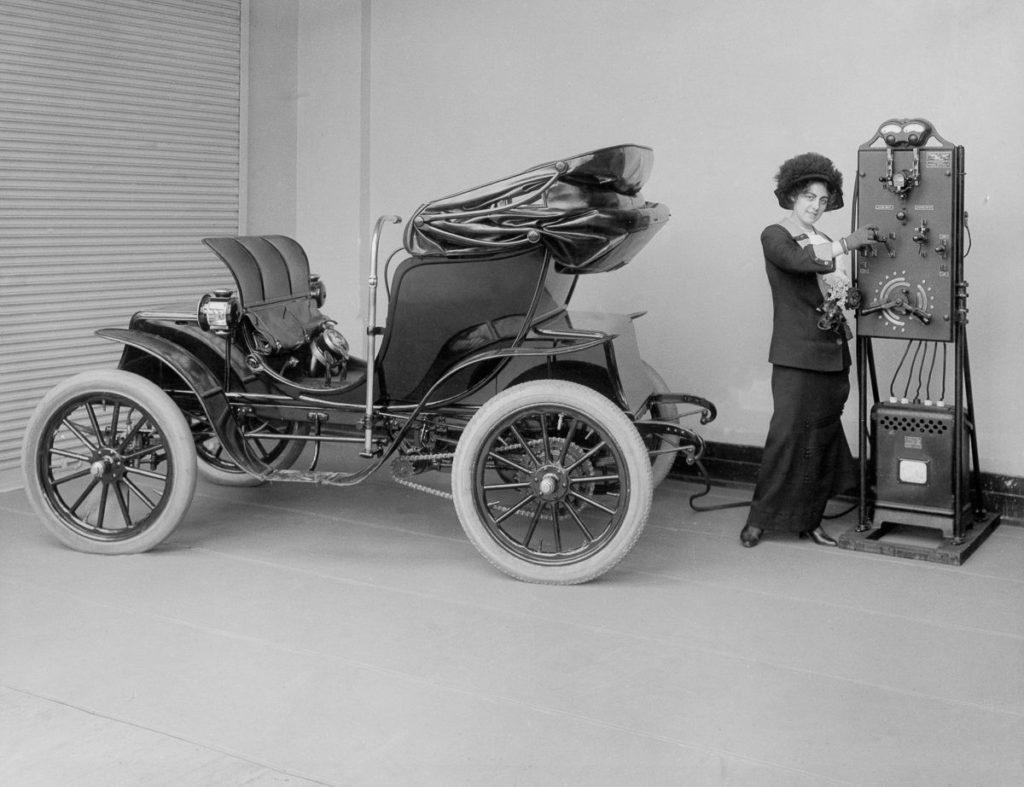 Los autos eléctricos no son una invención de este siglo