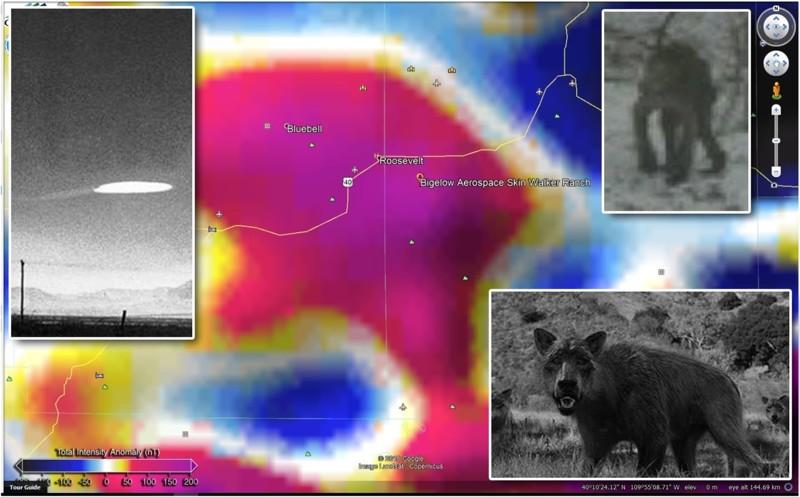 Los avistamientos OVNI y las anomalías magnéticas ¿cómo se relacionan? -