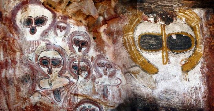 Pictografías aborígenes de Australia