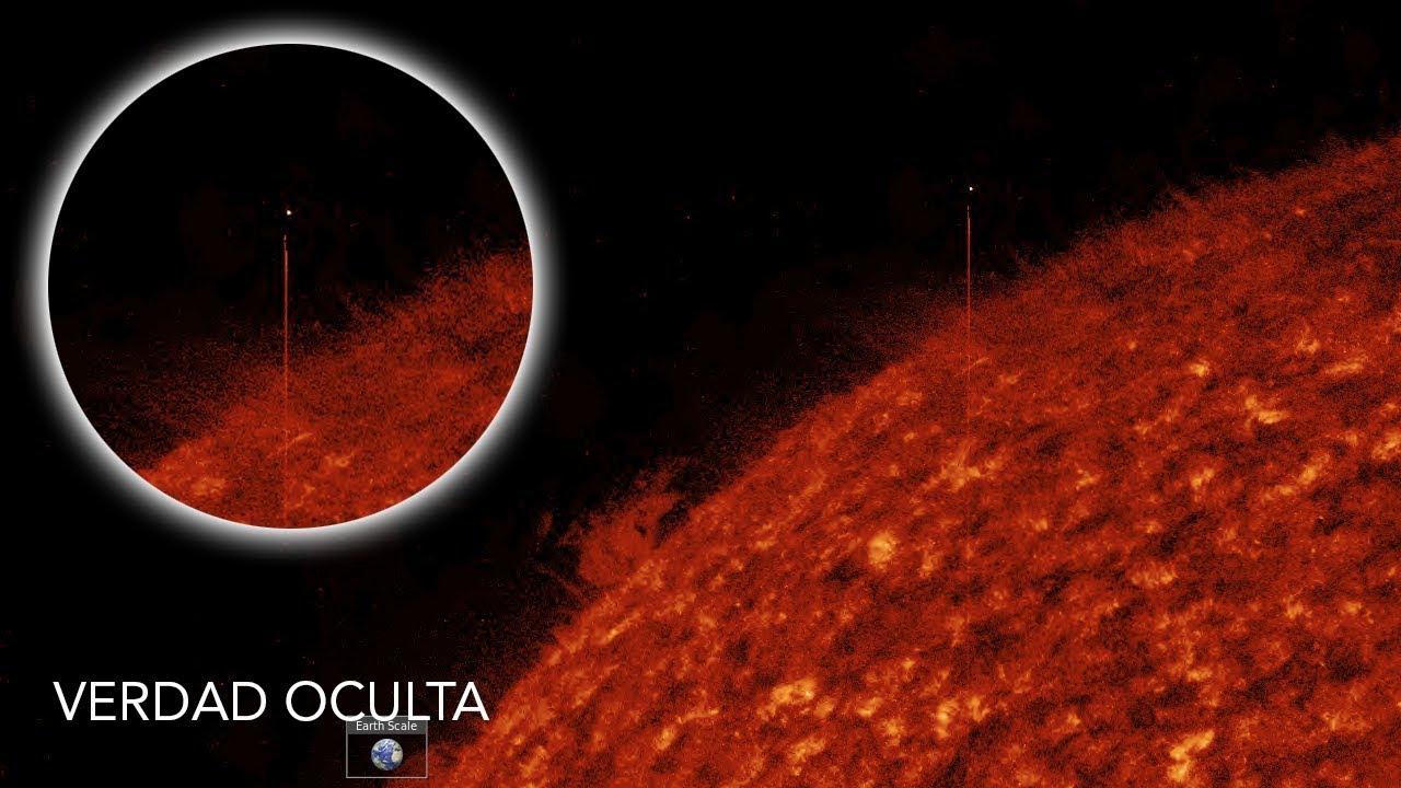 Puede ser el SOL un Portal para los OVNIS