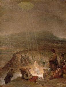 Un extraño OVNI en una pintura del Siglo XVI, perteneciente a Vlad Tepes (Drácula)