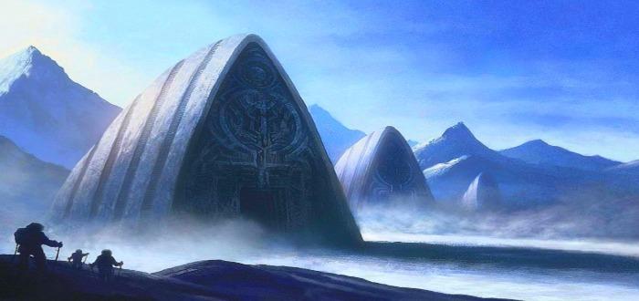 Una misteriosa estructura en la Antártida. ¿Qué es?