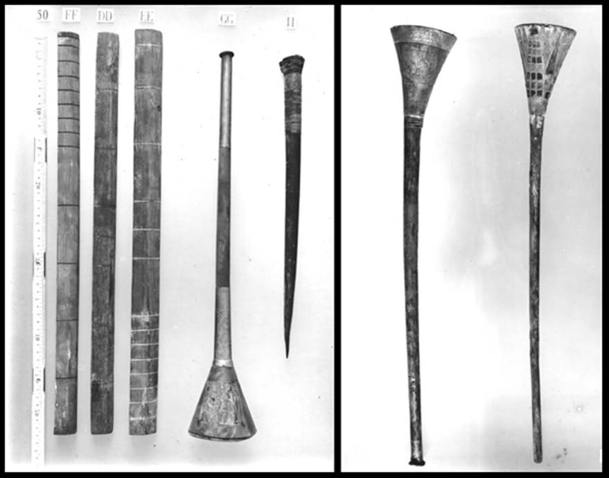 Instrumentos musicales de destrucción masiva: ¿realmente convocan a la guerra las trompetas de Tutankamón?