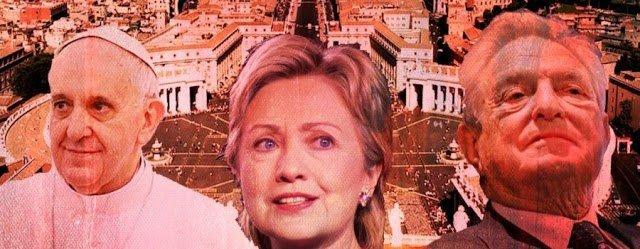 WikiLeaks: Clinton, Obama y Soros derrocaron al Papa Benedicto XVI con un golpe en el Vaticano.