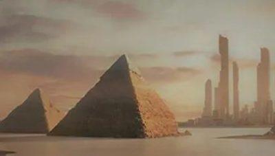 La CIA publicó documentos #TOPSECRET sobre pirámides y una civilización extinta en Marte