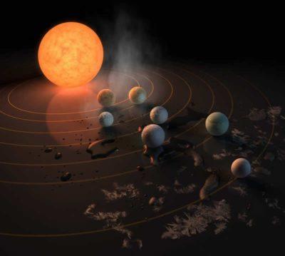 Calculan cuánto tardaríamos en alcanzar los 7 planetas descubiertos