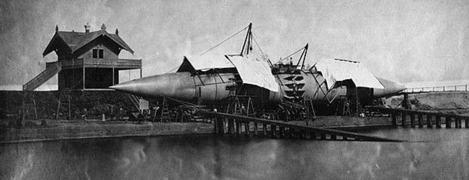 1858: Los barcos de vapor cigarro de Winans