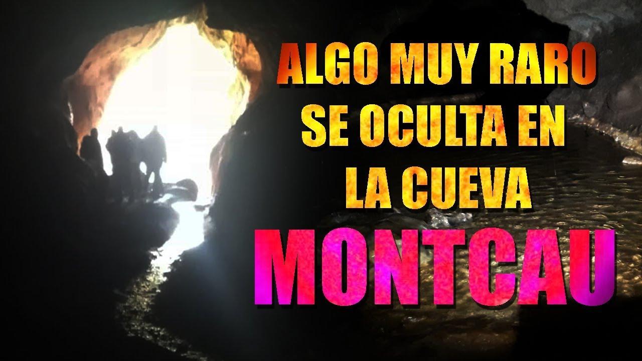 Algo muy Extraño se oculta en la Cueva de Montcau