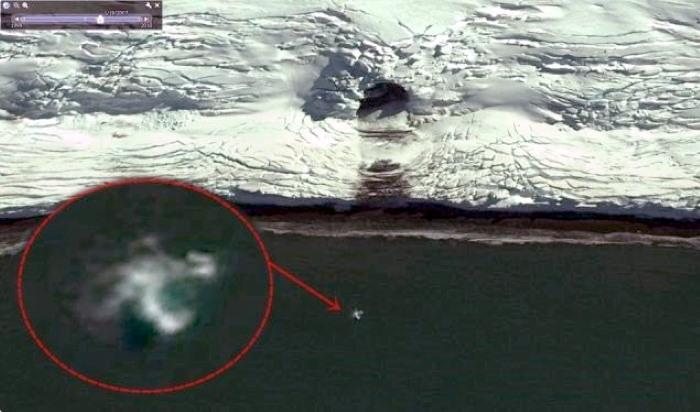 ANTARTIDA, algo «enorme» se ha escapado de una base secreta subterránea en la Isla Rey Jorge