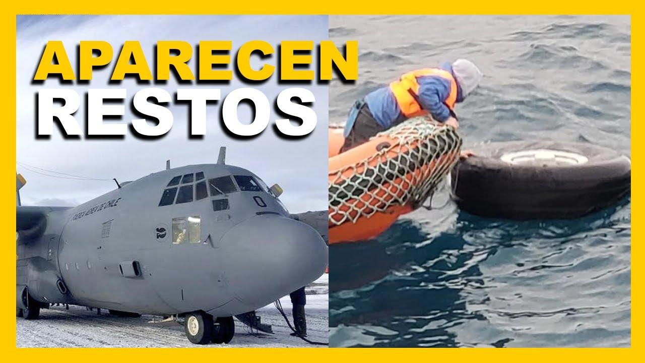 APARECEN RESTROS DEL AVIÓN MILITAR CHILENO HÉRCULES C130
