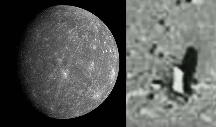 El monolito de mercurio es una prueba de que una civilización extraterrestre habitó el sistema solar!