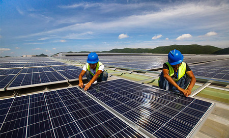 China quiere crear su propia central de energía solar... en el espacio