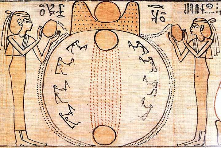 Cuatro mitos de la creación del hombre en diferentes culturas: sumerios, egipcios, mayas e incas.