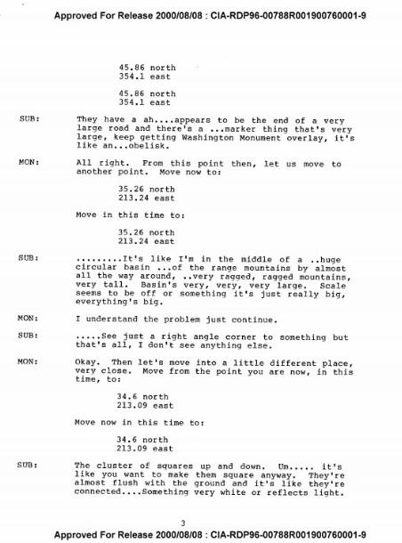 """Documentos de la CIA: """"En Marte, una antigua raza alienígena fue destruida por un INVASOR desconocido"""""""