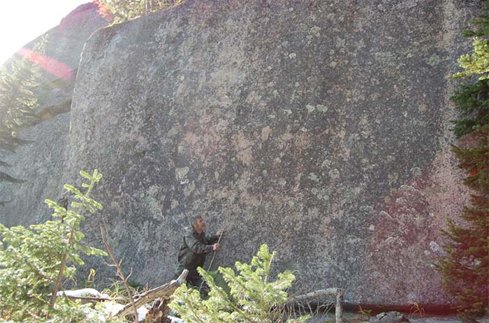 El enorme muro de Gornaya Shoria: ¿erigido por gigantes?.