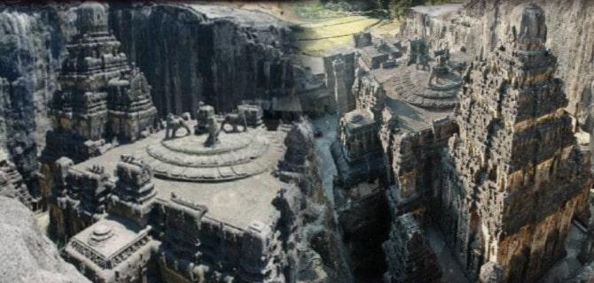 Este templo fue tallado en una sola roca ¡Nadie sabe cómo lo hicieron! India