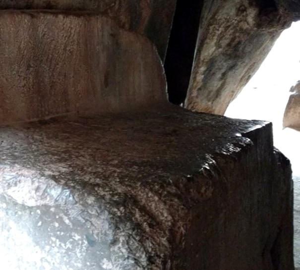 Evidencias de moldeo y vitrificación en construcciones antiguas