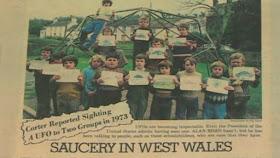 Gales: Los avistamientos OVNI de Broad Haven marcaron 40 años