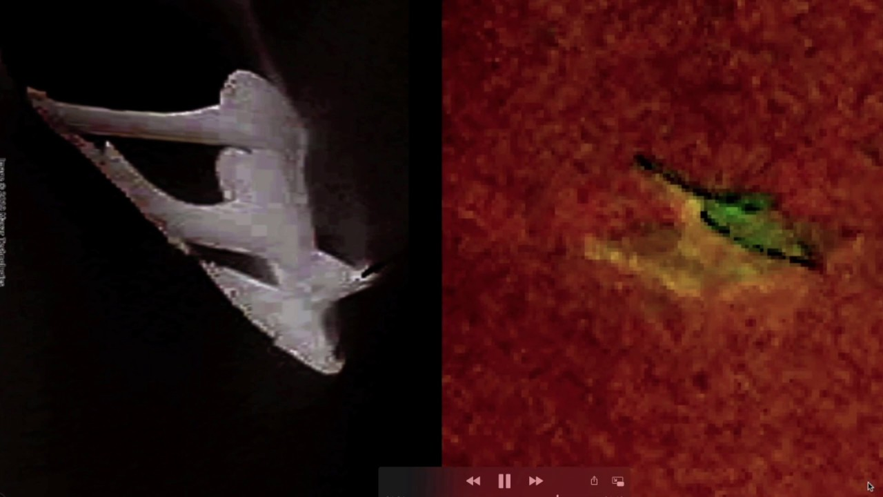 Incredible «U F O» spotted above Canada resembles STRANGE «craft» recently found in Antarctica Ice!