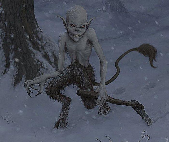 Kallikantzaroi: traviesos duendes nocturnos emergen del subsuelo solo durante los doce días de Navidad