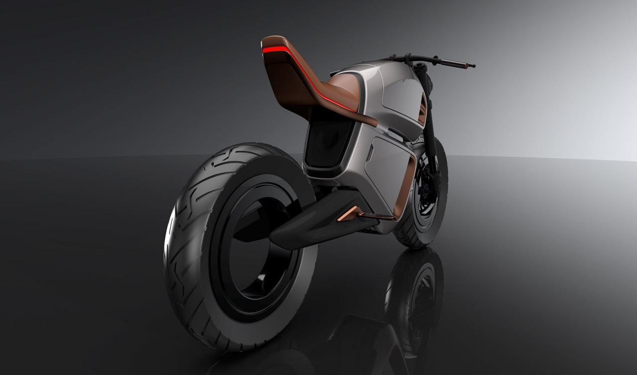 La elegante moto eléctrica de Nawa utiliza un ultracondensador para aumentar drásticamente el alcance