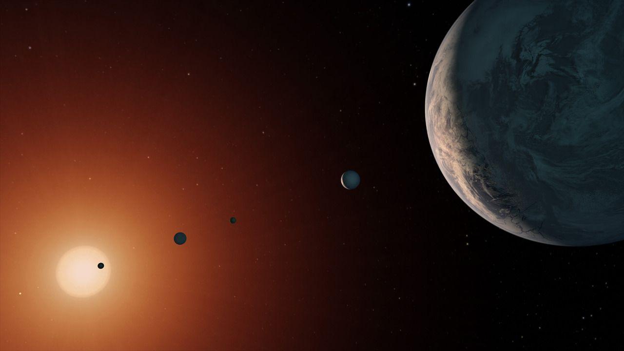 La probabilidad de que los exoplanetas de TRAPPIST-1 alberguen vida son cada vez mayores