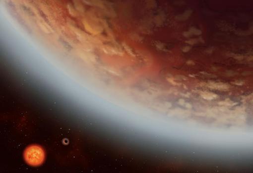 La supertierra K2-18b se ha convertido en el único mundo conocido fuera del sistema solar que tiene agua y temperaturas adecuadas para albergar vida