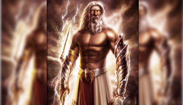 Zeus dios griego del trueno