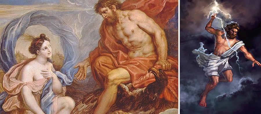 Júpiter dios romano del trueno