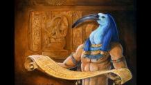 Texto de Thoth: Un texto sagrado del antiguo Egipto que ofrece conocimiento ilimitado