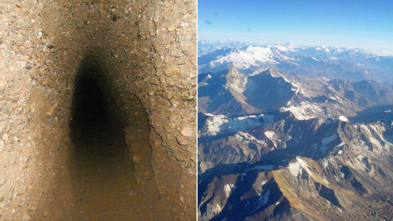 Túneles subterráneos que conectan el mundo entero: bajo los Andes, Pirámides de Giza y el océano