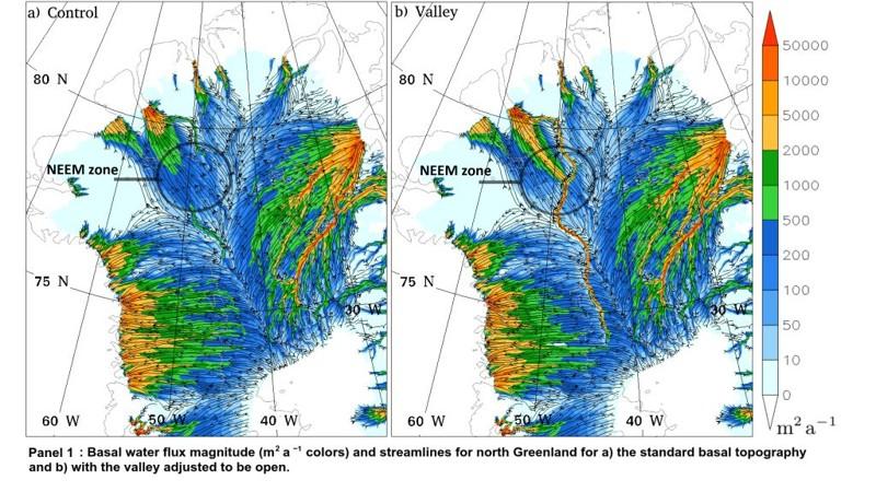 Un «Río Oscuro» de 1.600 kilómetros ha sido desvelado bajo Groenlandia