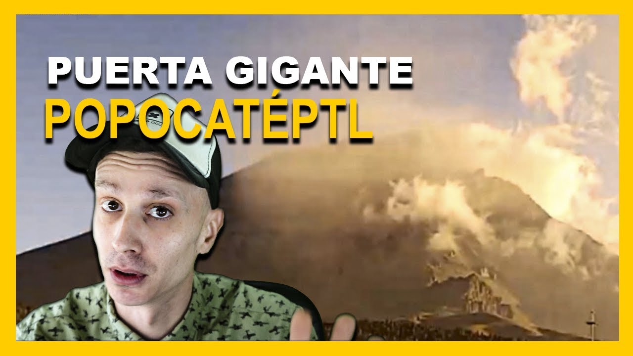 Una Enorme ANOMALÍA vista en el Volcán Popocatéptl